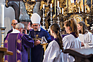 Pontifikalgottesdienst Erzabt Wolfgang